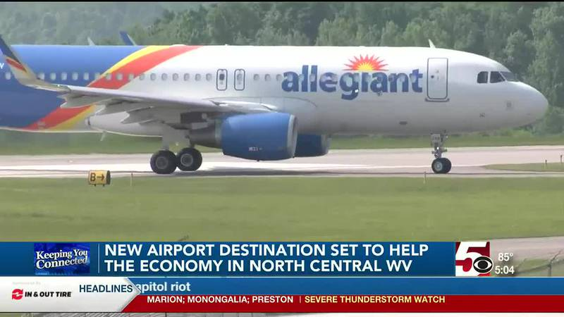New airport destination set to help North Central WV economy
