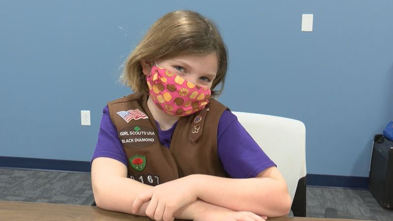 viral girl scout