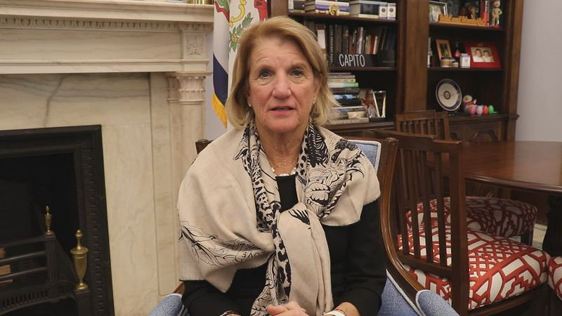 Senator Shelley Moore Capito talks about resumed discussion on COVID-19 relief