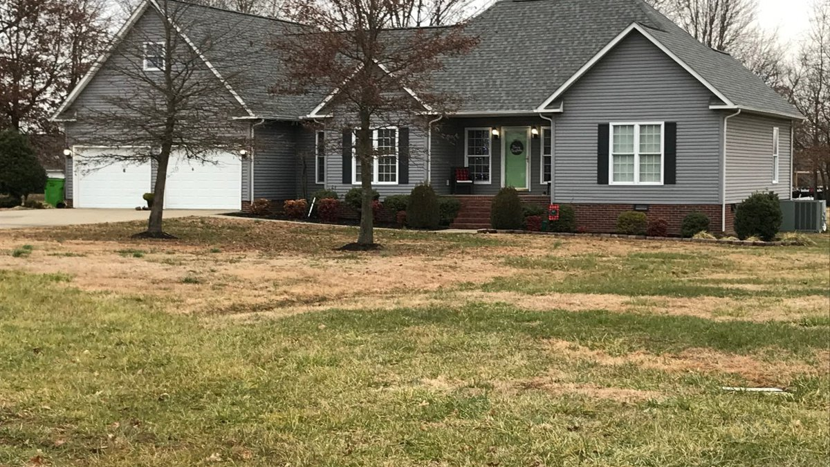 A home became a crime scene in Mayfield, Ky., on Sunday.