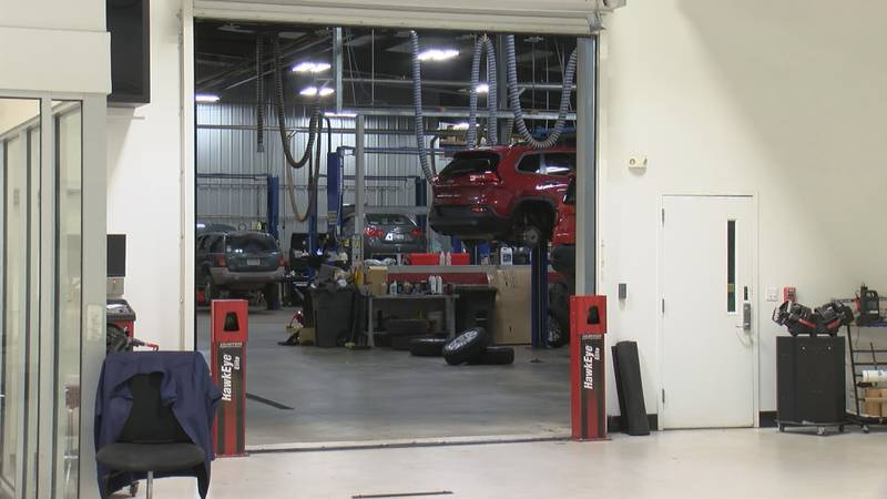 Local businesses adapt during a nationwide car parts shortage.