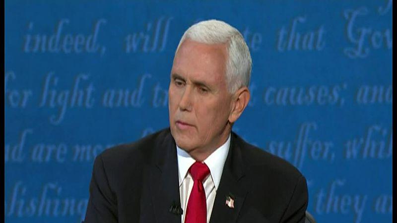 "Pence says a coronavirus vaccine will be hear ""in unheard of time."""