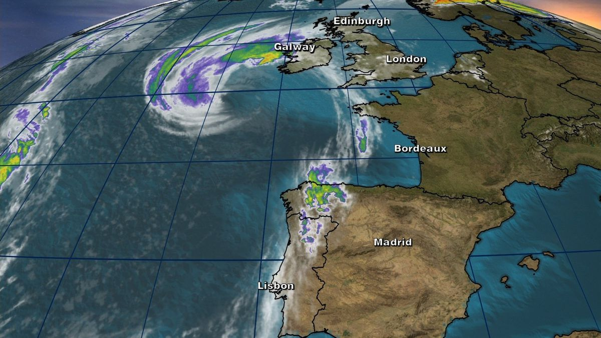 Former Hurricane Ophelia is racing toward Ireland and the United Kingdom as a post-tropical storm, bringing with it strong winds and the threat of heavy rain and dangerous storm surge.