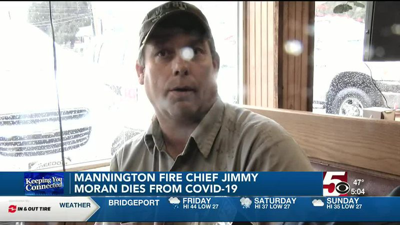 Mannington Fire Chief Jimmy Moran has died of COVID-19 and pneumonia