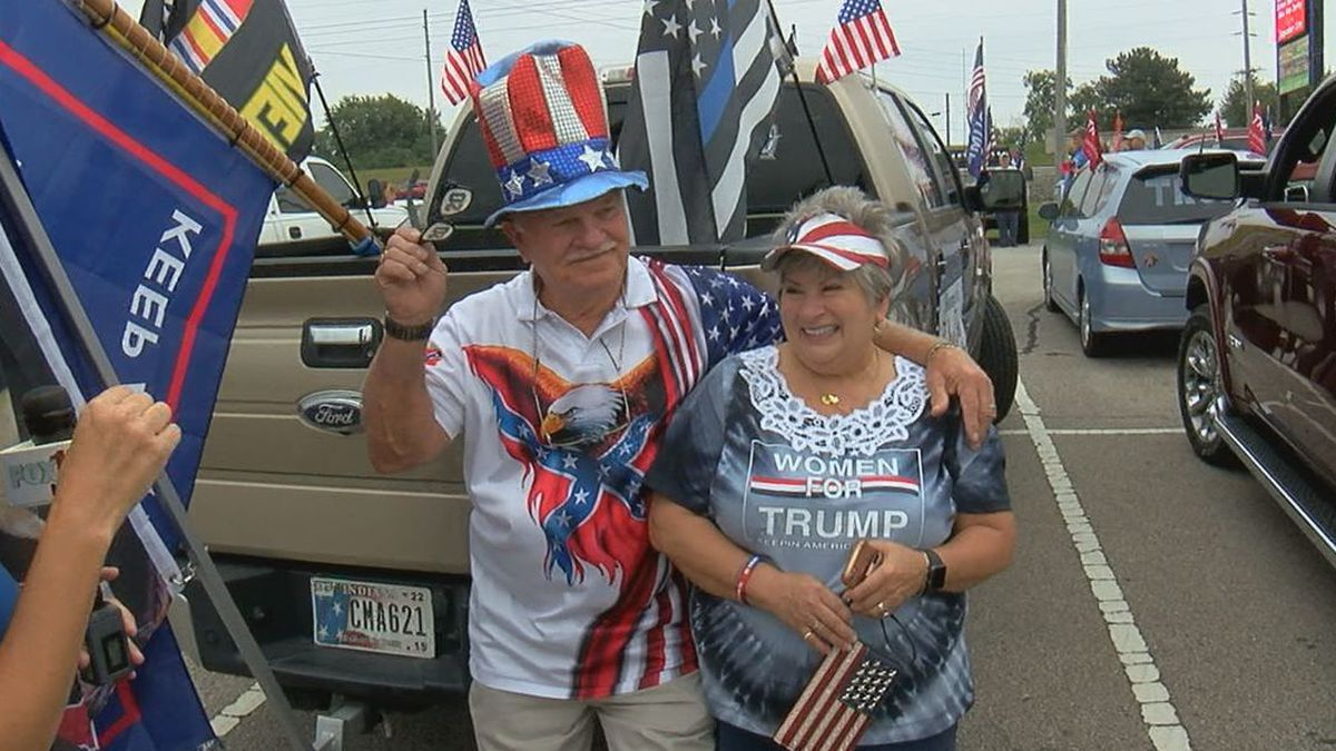 Over 6,000 people were signed up for the rally, which was organized by the Patriots for America.
