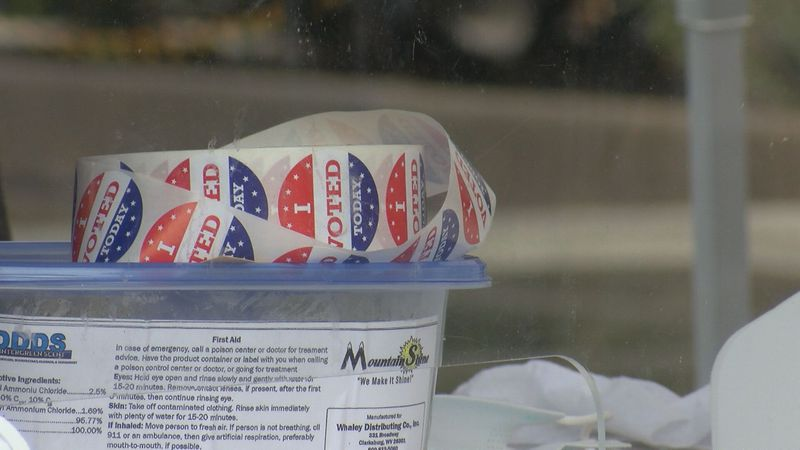 """'I Voted"""" stickers"""