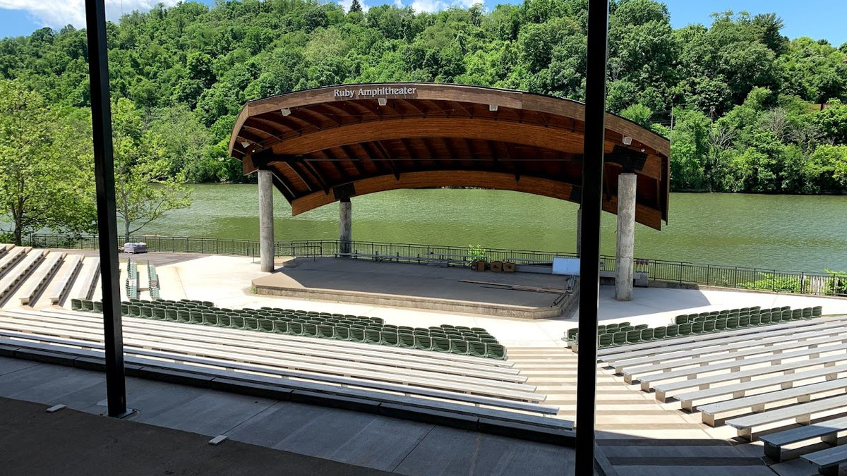 The newly renovated Ruby Amphitheater.