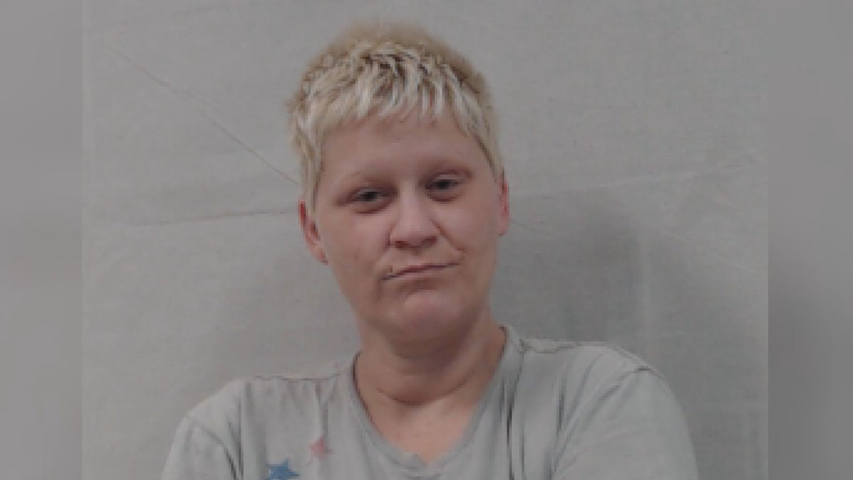 A Gilmer County woman is behind bars after allegedly shooting at a neighbor.