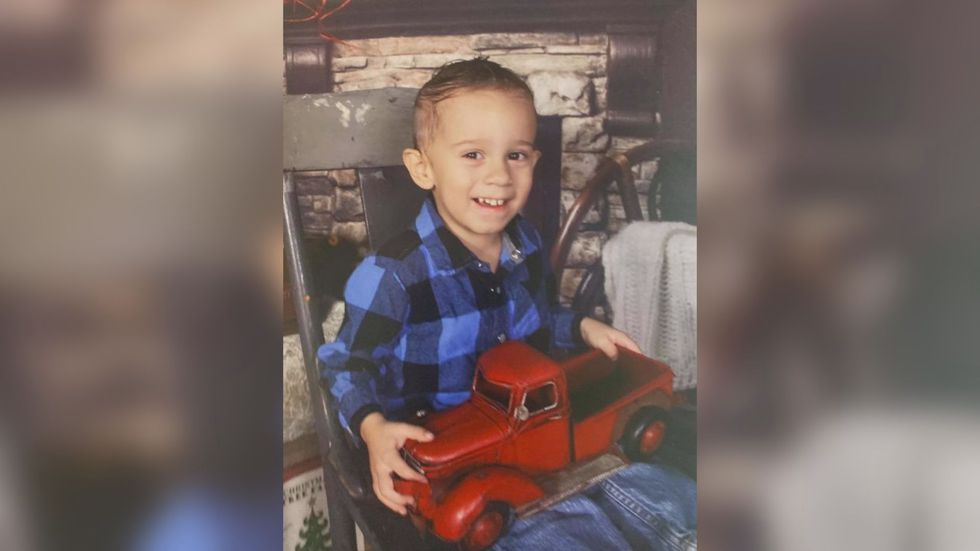 Police are looking for a missing child last seen near Pleasant Avenue in Elkins.