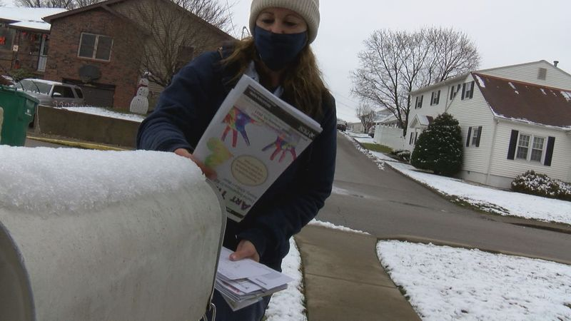 postal services working to deliver