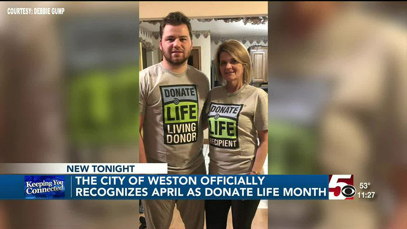 City of Weston proclaims April as Donate Life month