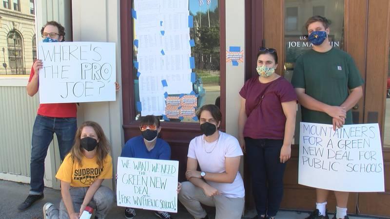 Group encourages Senator Manchin to support green legislation.