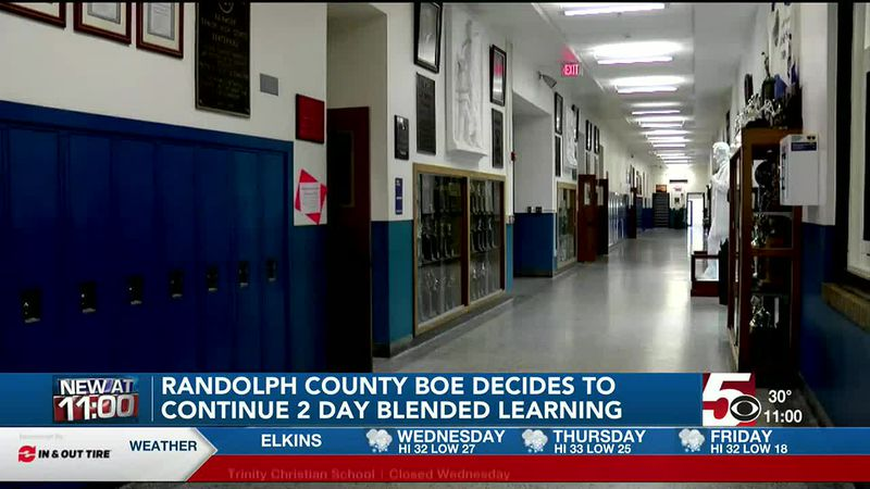 Randolph County BOE votes to continue 2 day blended learning plan