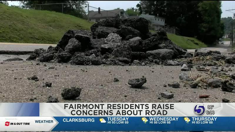 Fairmont residents raise concerns about parts of Pennsylvania avenue.