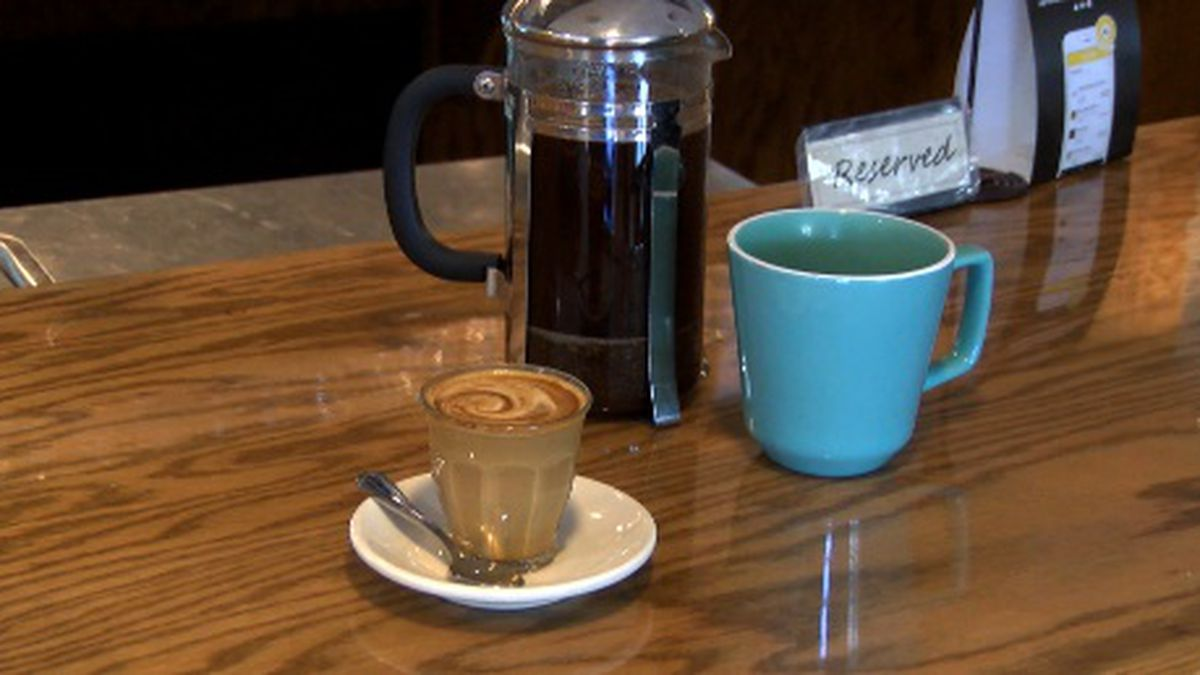 Terra Cafe serves a variety of coffee, including French Press and espresso drinks.