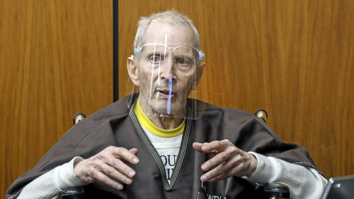FILE - In this Monday, Aug. 9, 2021, file photo, New York real estate scion Robert Durst, 78,...