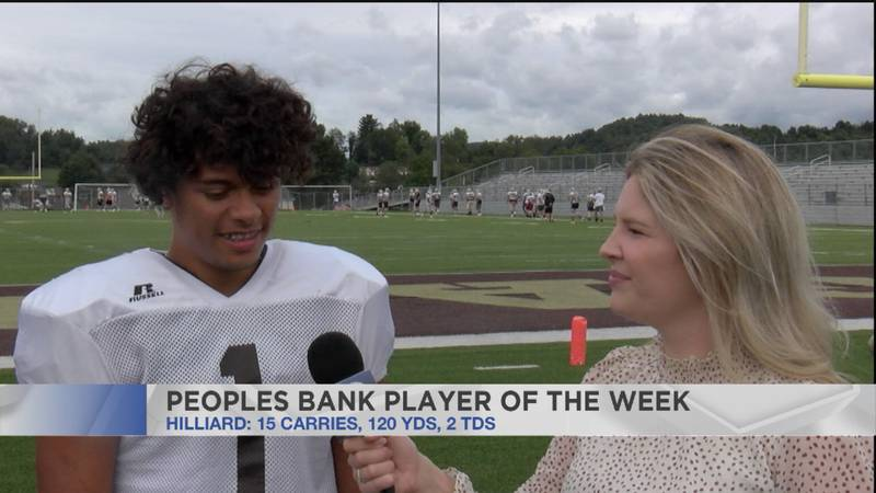 Peoples Bank Player of the Week