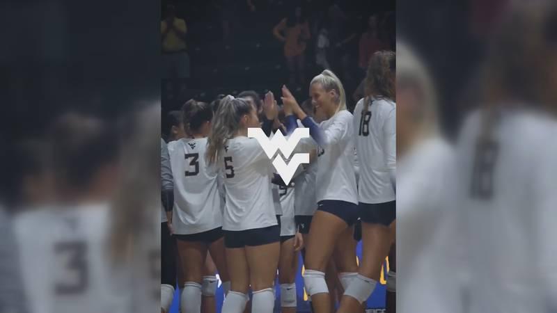 WVU volleyball