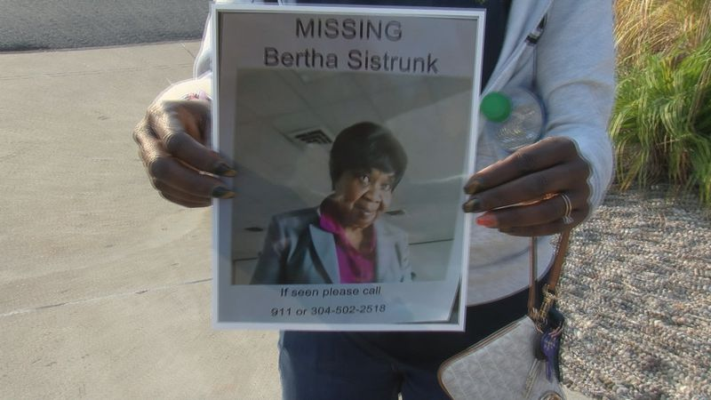 Community members search for an elderly Fairmont woman that had been missing for almost a week.
