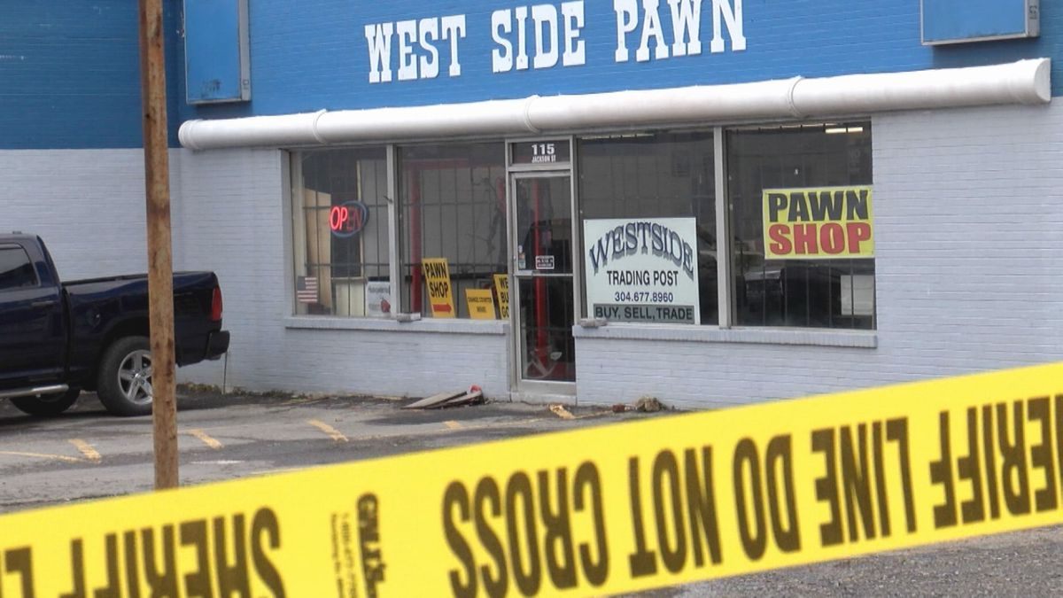 A pawn shop owner shot and killed a would-be robber in Fairmont Wednesday. (Photo: WDTV)
