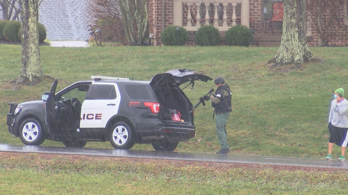 Bridgeport Police respond to Oakview Drive shots fired New Years Day.