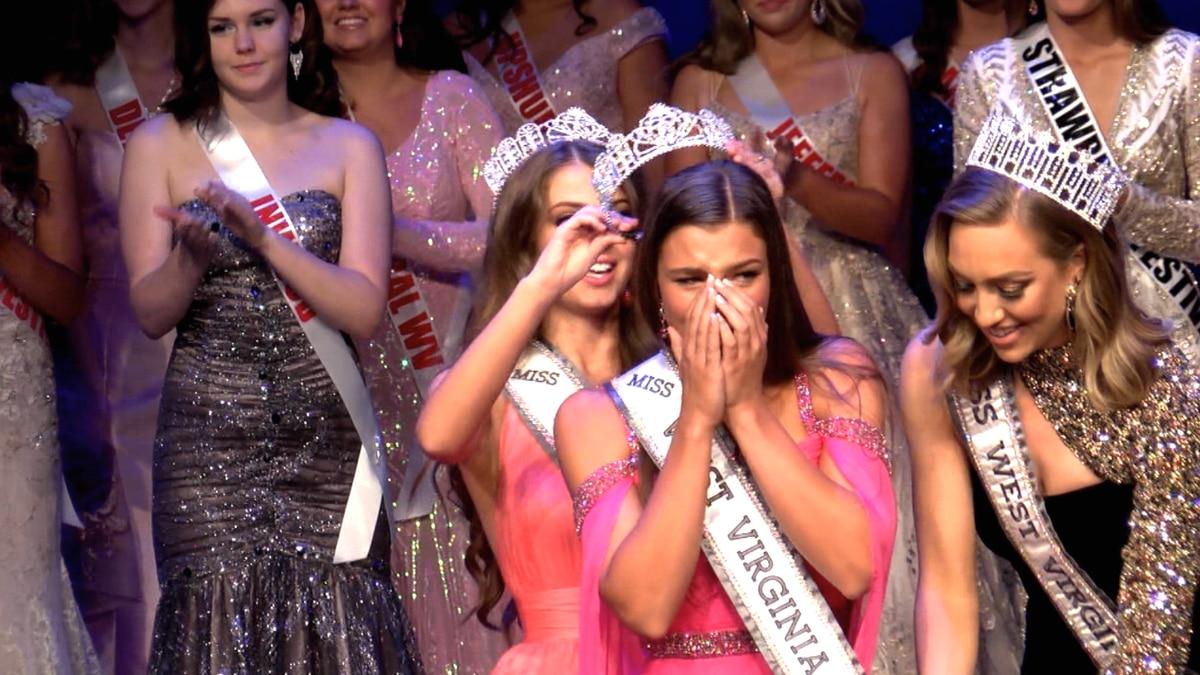 Brylee Knotts crowned Miss West Virginia Teen USA.