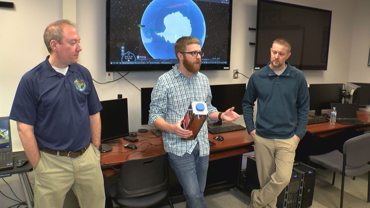 West Virginia's first spacecraft marked one year in orbit. Developers said the mission of STF-1 exceeded expectations. (Photo: WDTV)