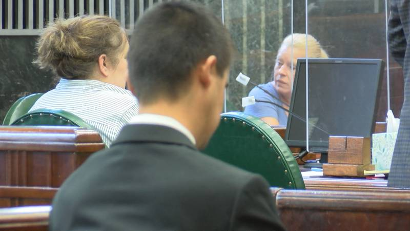Former Anmoore clerks appear in court for restitution hearing