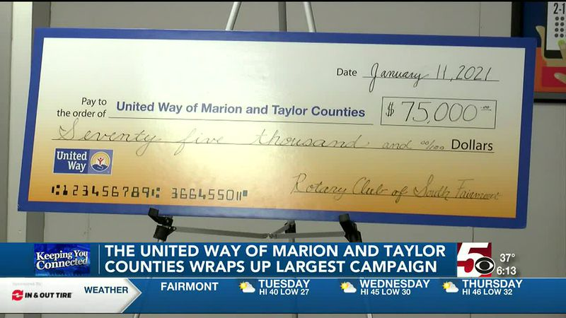 United Way of Marion and Taylor Counties wraps up largest campaign