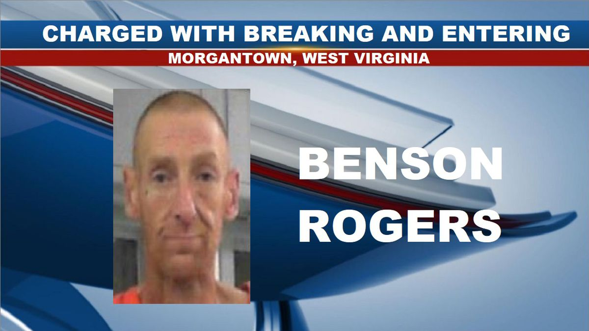 Benson Rogers was arrested and charged with breaking and entering. (Source: North Central Regional Jail)