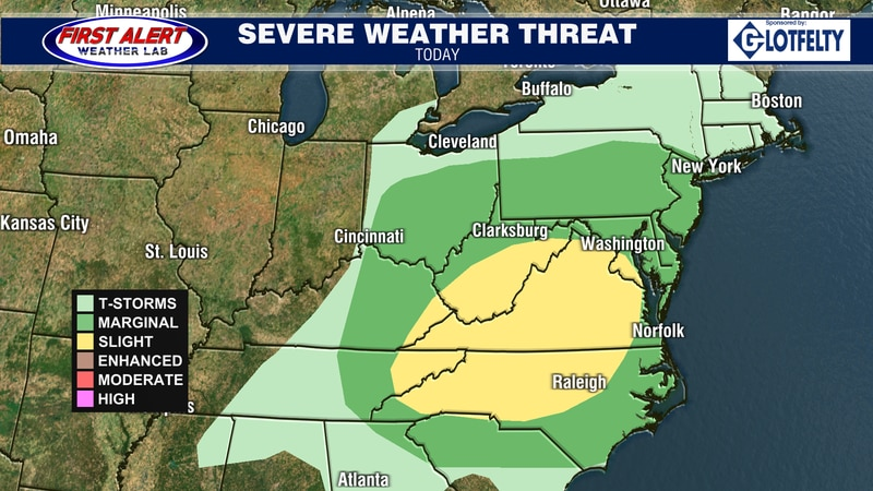 Convective Outlook for today, October 25, 2021