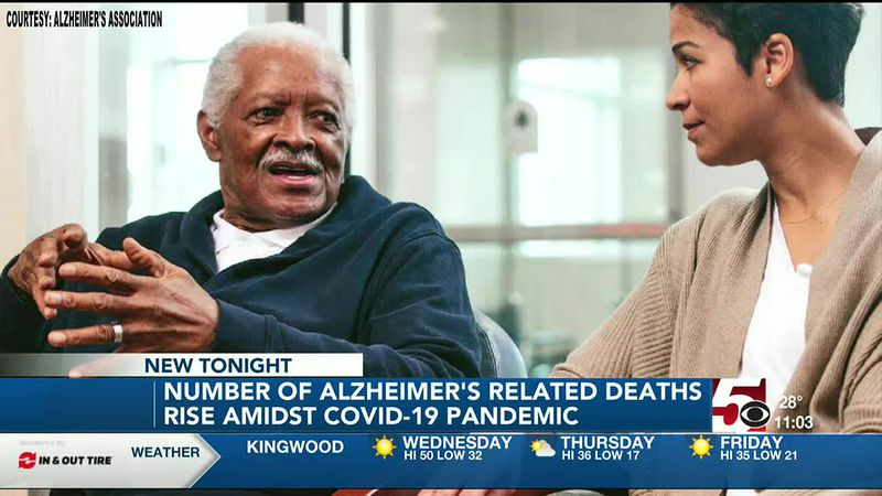 Alzheimer's related deaths rise in West Virginia amidst COVID-19 pandemic