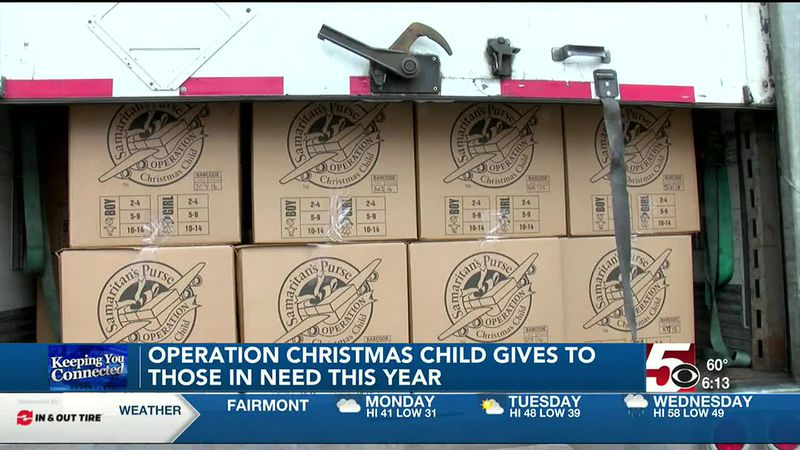 Operation Christmas Child anticipates a high number of donations