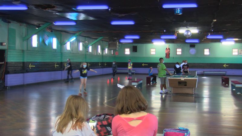 A local woman started a unique daycare to help kids roll through the pandemic.