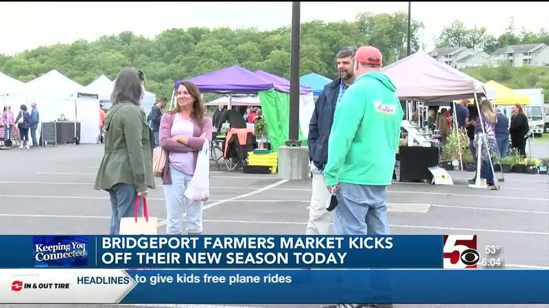 Bridgeport Farmers Market kicks off their new season