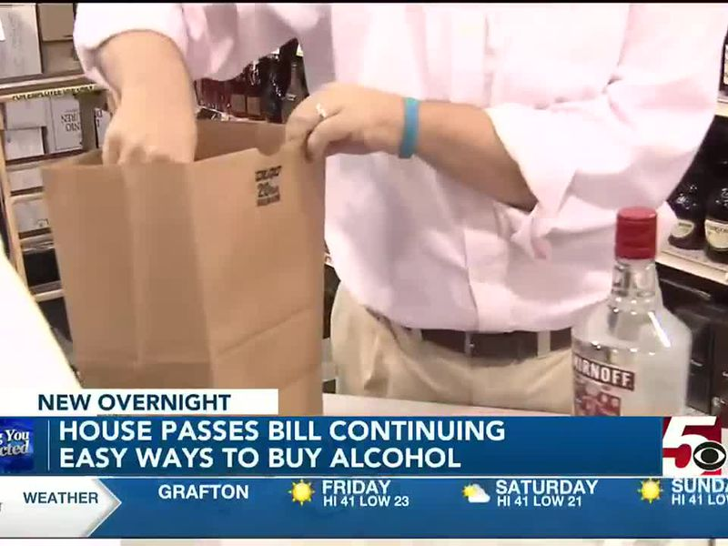 House of Delegates passes bill continuing flexible ways to buy alcohol