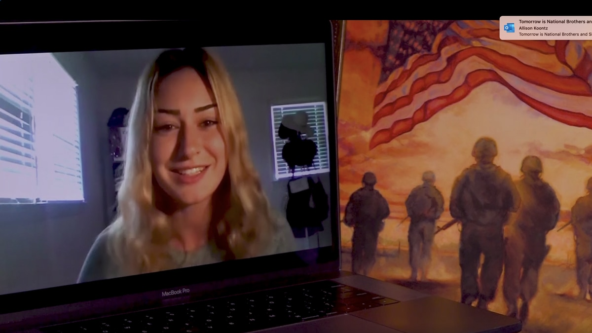 Mariam Kakhabrishvili, 23, is one of the Army's newest recruits.  She described the virtual...