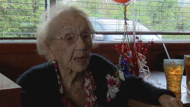 Bridgeport native turned 103 years old.