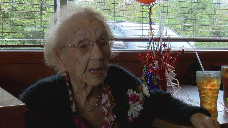 Bridgeport native turned 103 years old.