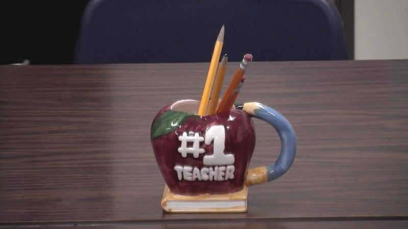 Berkeley County West Virginia teachers returned to work Monday with their colleagues.