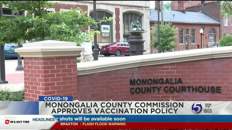 Monongalia County Commission approves vaccination policy