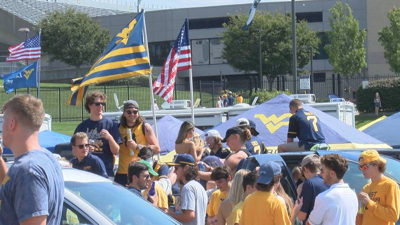 wvu tailgates, first home game