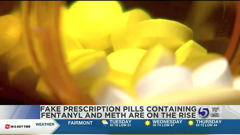 Fake prescription pills containing fentanyl and meth are reaching the highest levels in history...