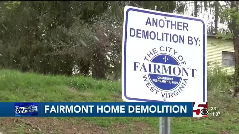 Demolition efforts underway in Fairmont