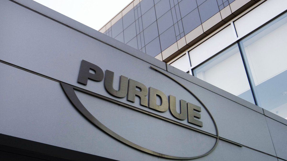 FILE - This May 8, 2007 file photo shows the Purdue Pharma offices in Stamford, Conn. On...