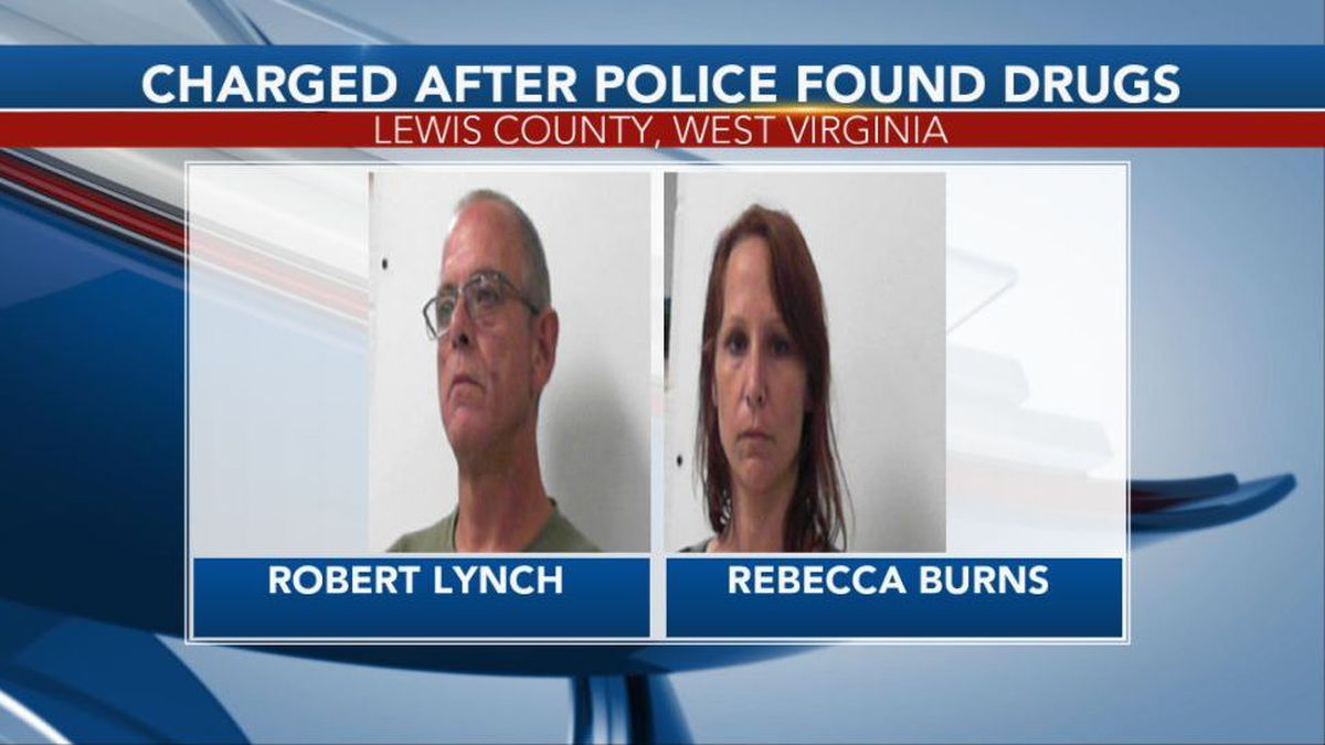 Robert Burns and Rebecca Lynch were arrested after police found drugs on them. (Picture Credit: Central Regional Jail)