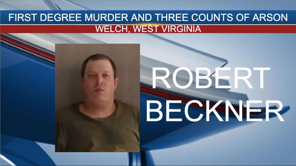 Robert Lee Beckner, 36, was charged Thursday with first-degree murder and three counts of first-degree arson