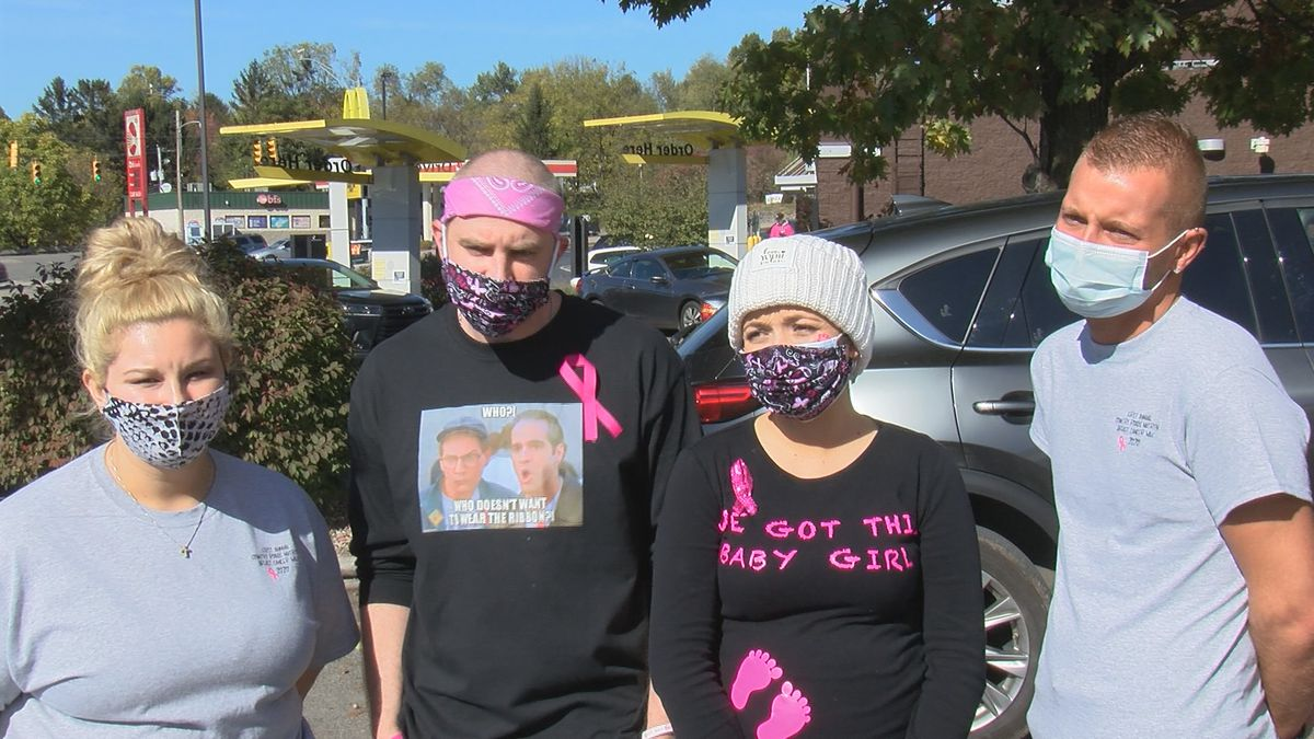 The Westover community came together for a Breast Cancer Awareness Walk in honor of a local woman.