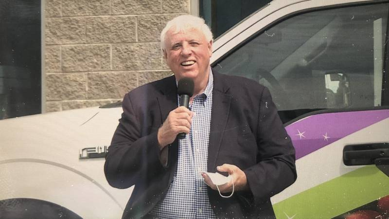 W.Va. Gov. Jim Justice announces new meal delivery trucks that will be used to provide food to...