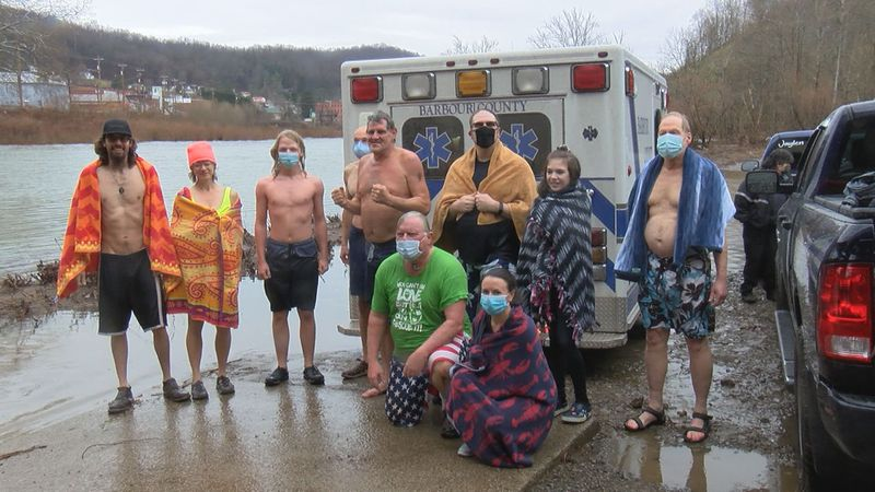 2021 marks the 15th plunge for the River Rats.